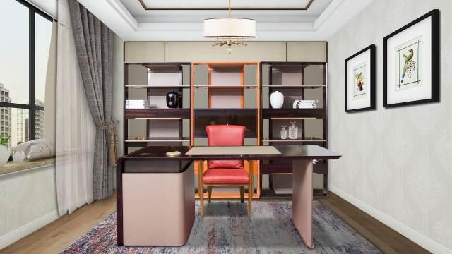 鹰星家具现代轻奢空间设计