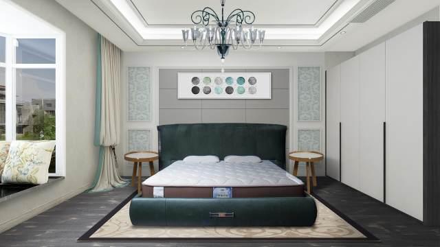 舒达卧室设计效果图